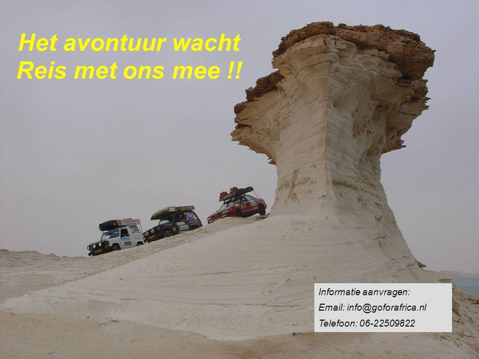 Het avontuur wacht Reis met ons mee !.