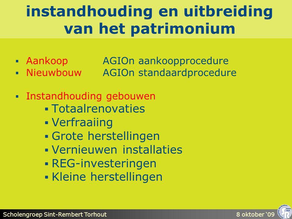 Scholengroep Sint-Rembert Torhout8 oktober '09 stap 3: de programma- samenstelling (2)  onderscheid tss musthave en nicetohave