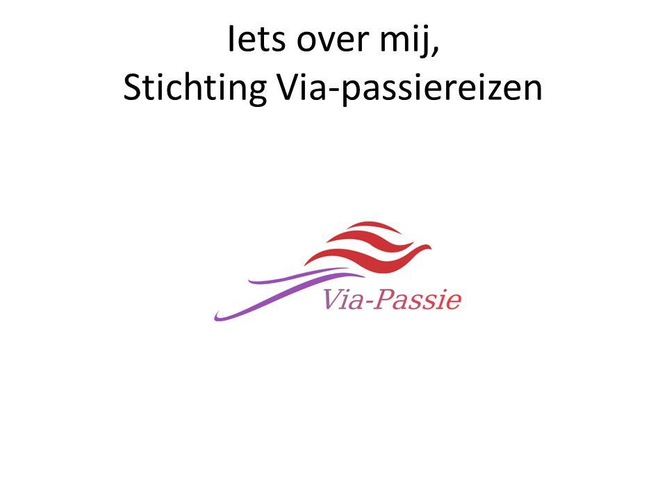 Iets over mij, Stichting Via-passiereizen