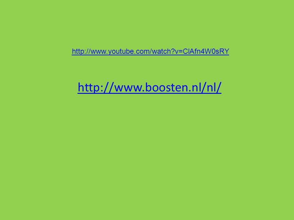 http://www.boosten.nl/nl/ http://www.youtube.com/watch v=ClAfn4W0sRY
