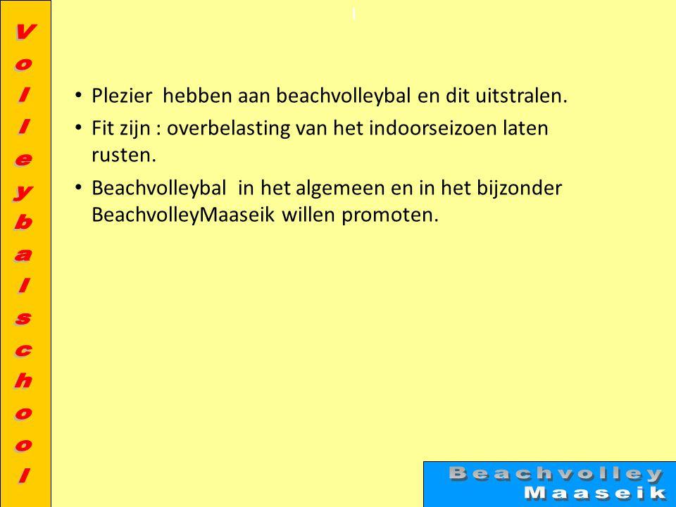 Inbegrepen in de prijs • Lidgeld – Onbeperkt gebruik maken van de infrastructuur – Verzekerd bij de Vlaamse volleybalbond of Sportievak • Preventietrainingen o.l.v.