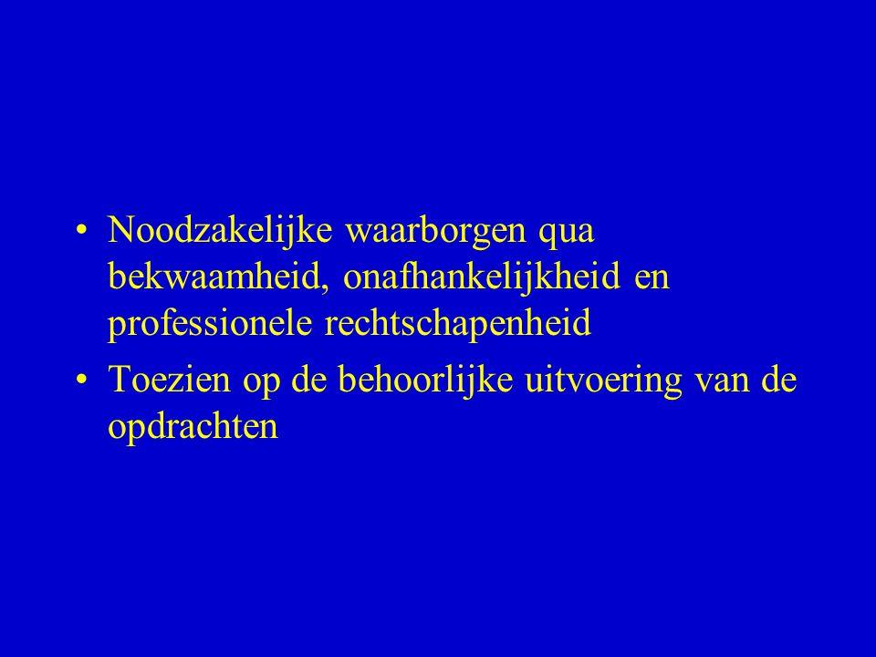 Hoofdstuk I: Algemene Bepalingen: KB 1 maart 1998 – art.