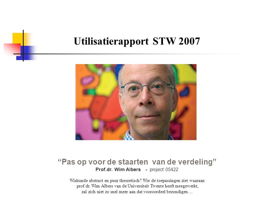  In 2008 onderzoek afgerond  promotie heeft plaatsgevonden  ex-student (nu 'dr.ir' ) werkt als risico-analist bij AEGON  nog veel van dit soort problemen over: pech voor verzekeraars, maar geluk voor ons.