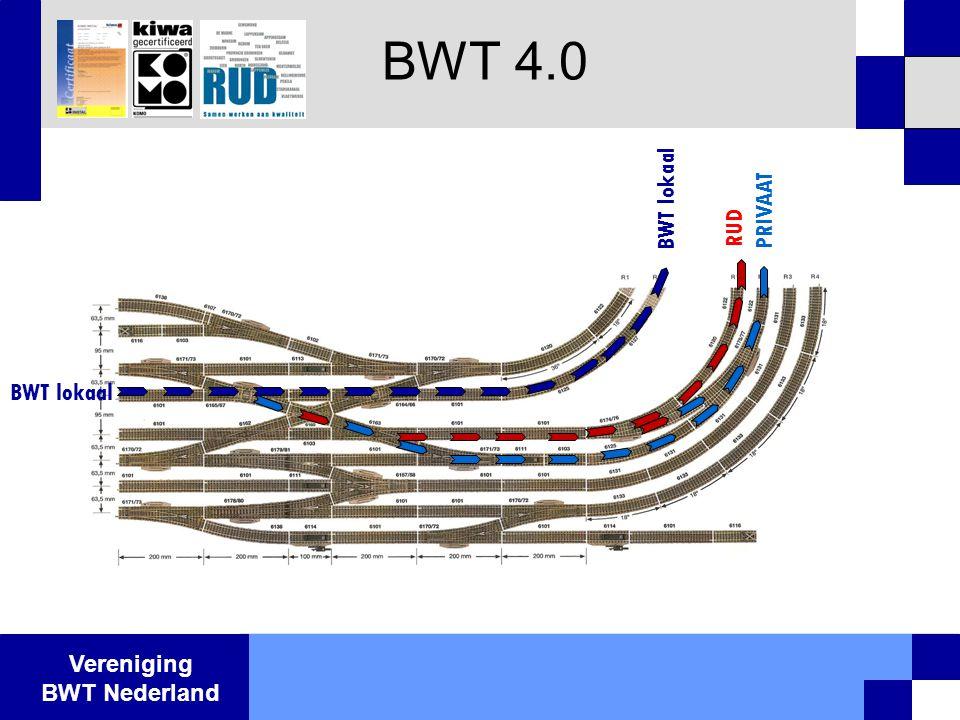 Vereniging BWT Nederland BWT 4.0 RUD PRIVAAT BWT lokaal