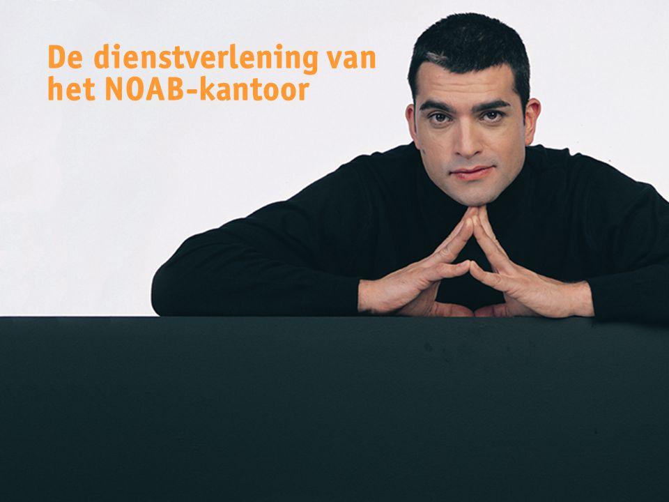 De dienstverlening van het NOAB-kantoor