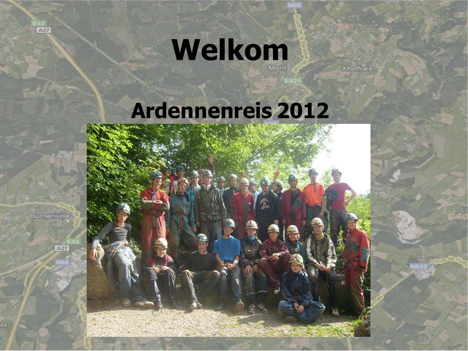 Welkom Ardennenreis 2012