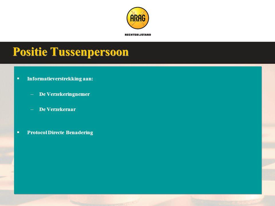 Veluwse Assurantieclub 9 januari 2008  Informatieverstrekking aan: –De Verzekeringnemer –De Verzekeraar  Protocol Directe Benadering  Informatiever