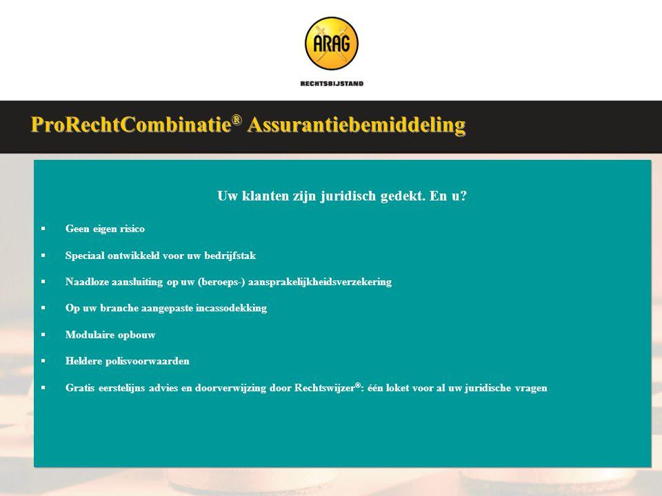 Veluwse Assurantieclub 9 januari 2008 Uw klanten zijn juridisch gedekt. En u?  Geen eigen risico  Speciaal ontwikkeld voor uw bedrijfstak  Naadloze
