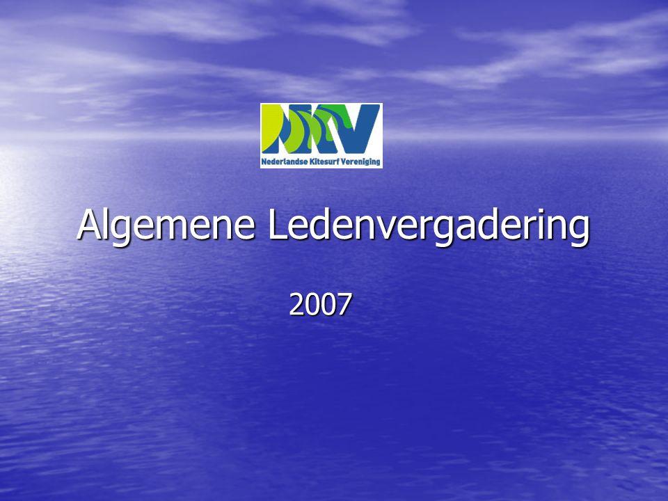 Algemene Ledenvergadering 2007