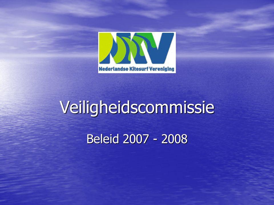 Veiligheidscommissie Beleid 2007 - 2008
