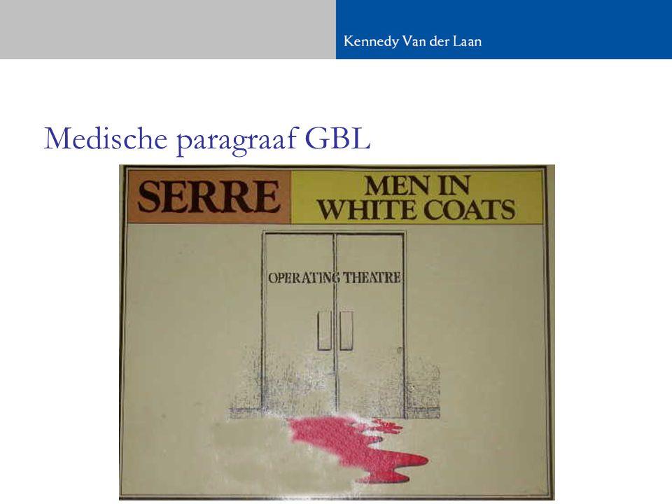 Medische paragraaf GBL