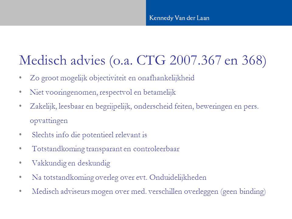 Medisch advies (o.a.