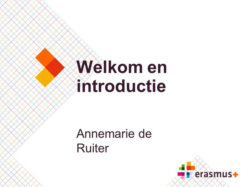 Welkom en introductie Annemarie de Ruiter