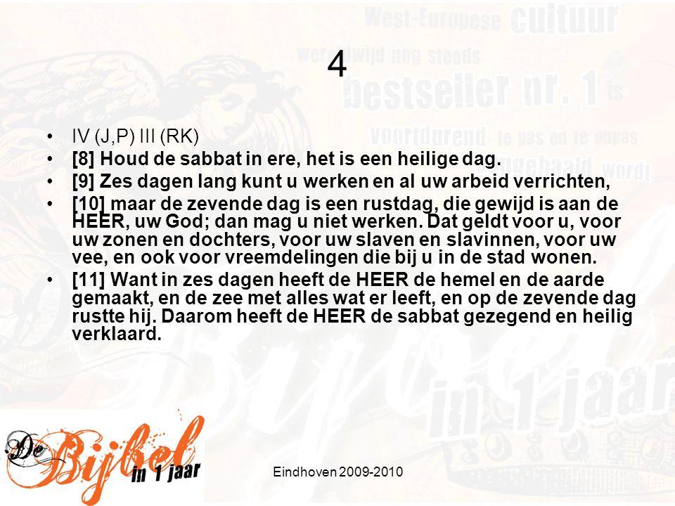 Eindhoven 2009-2010 4 - vervolg •Vgl.o.a Ex.
