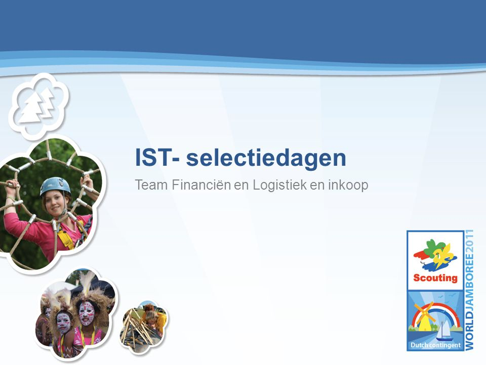 IST- selectiedagen Team Financiën en Logistiek en inkoop