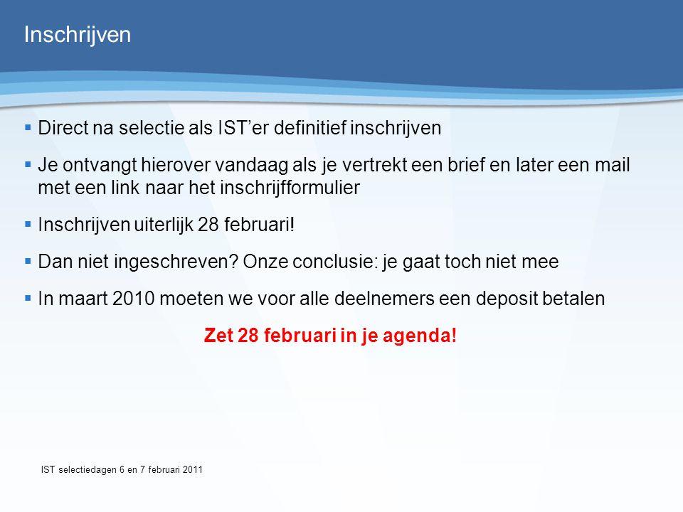 Betaaltermijnen IInschrijfgeld direct na inschrijving€ 50,- 22e termijn 25 maart 2010€ 415,- 33e termijn 25 juni 2010€ 415,- WWij moeten in juli betalen aan Zweden i.v.m.