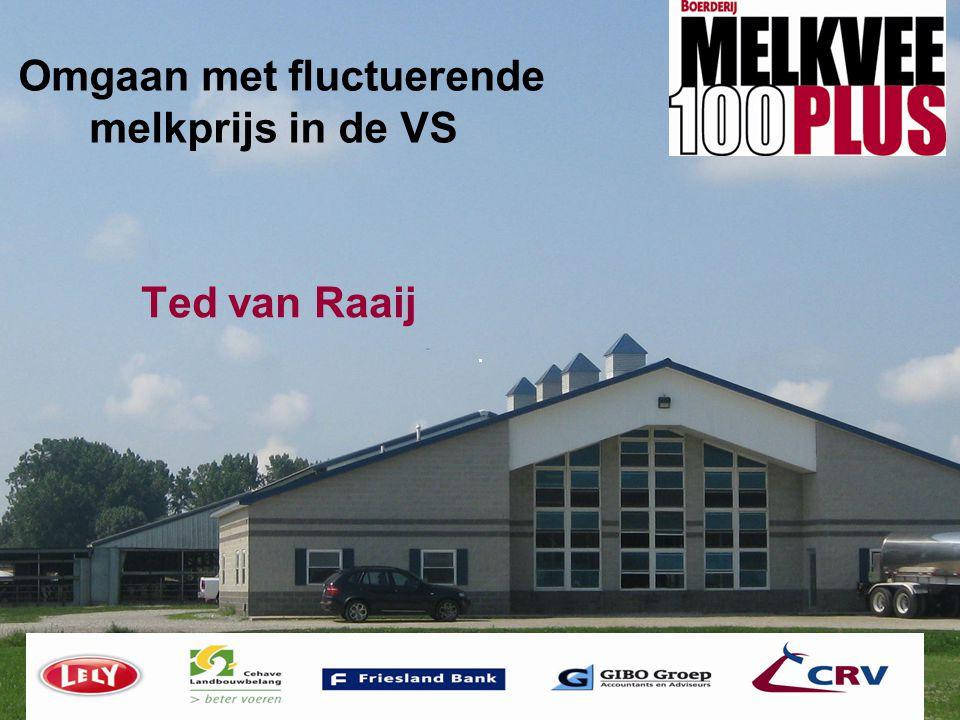 Omgaan met fluctuerende melkprijs in de VS Ted van Raaij