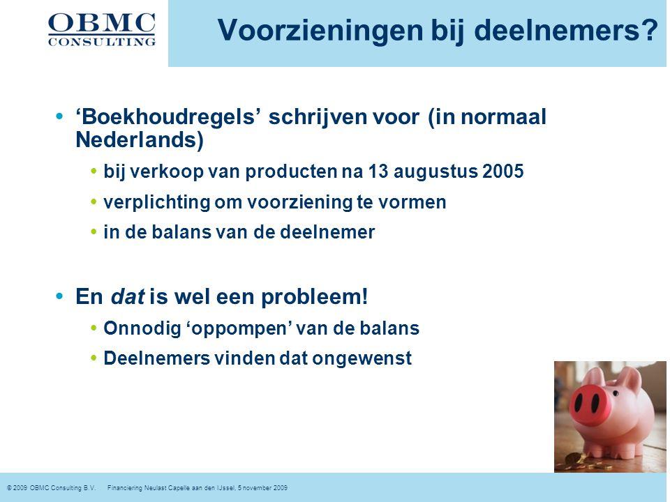 © 2009 OBMC Consulting B.V.