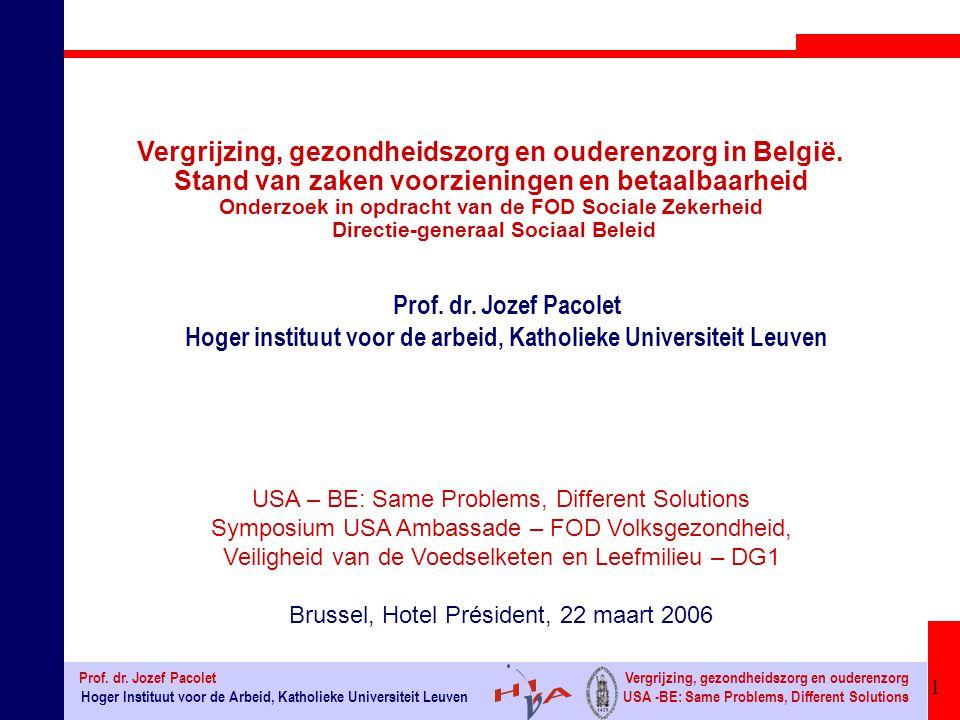 62 Hoger Instituut voor de Arbeid, Katholieke Universiteit Leuven Prof.