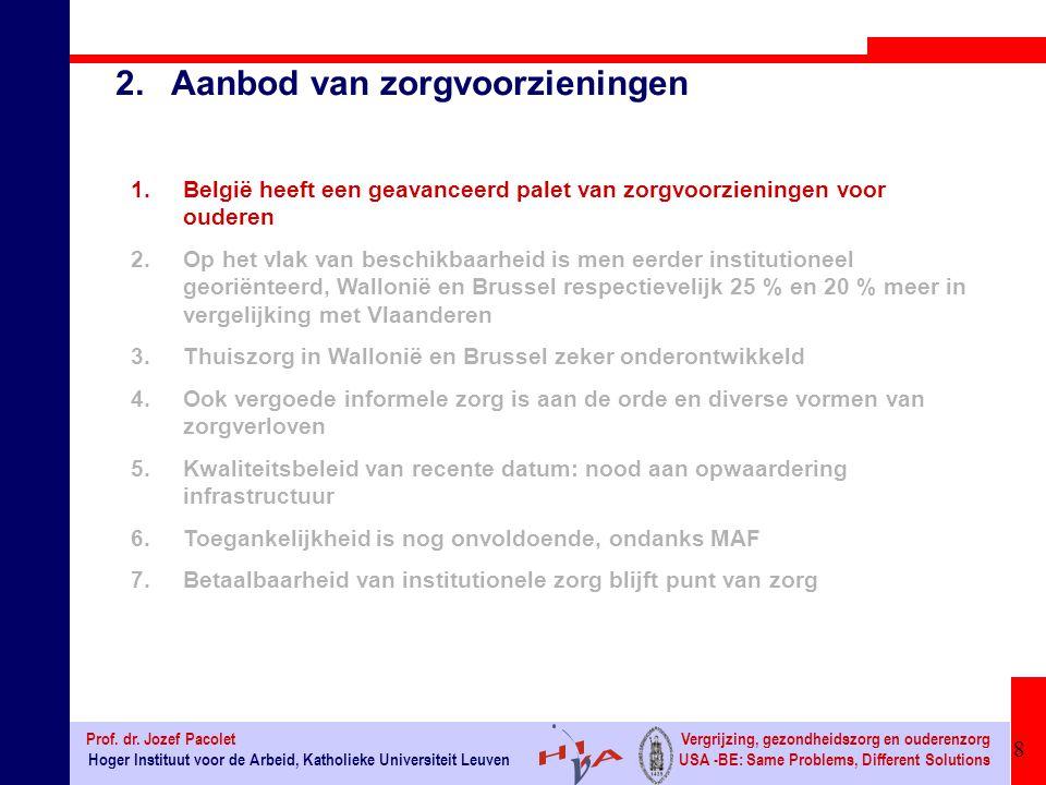 29 Hoger Instituut voor de Arbeid, Katholieke Universiteit Leuven Prof.