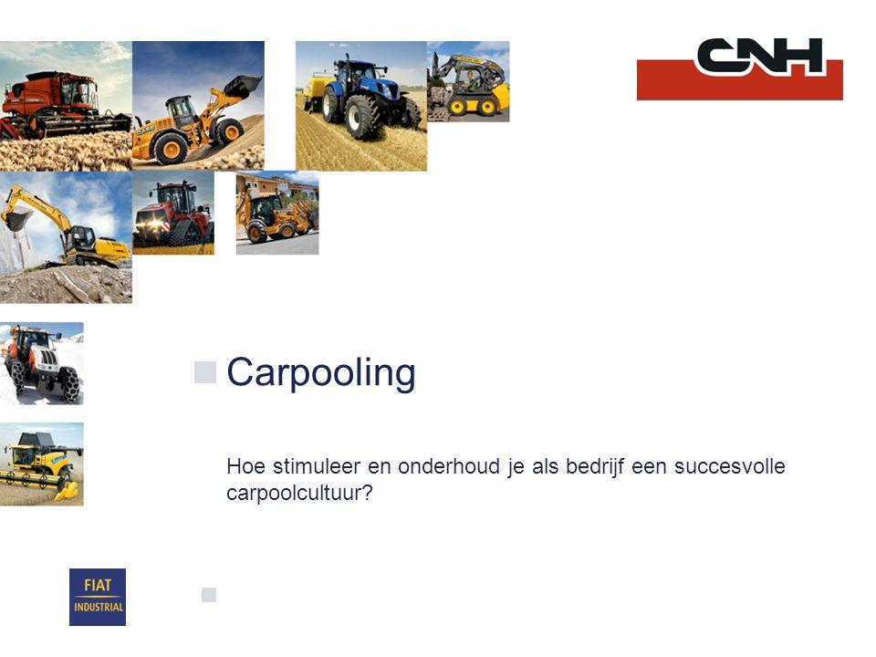 Carpooling Hoe stimuleer en onderhoud je als bedrijf een succesvolle carpoolcultuur?