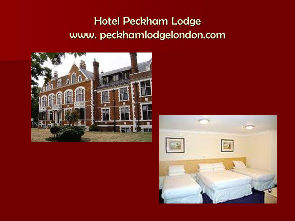 Hotel Peckham Lodge www. peckhamlodgelondon.com