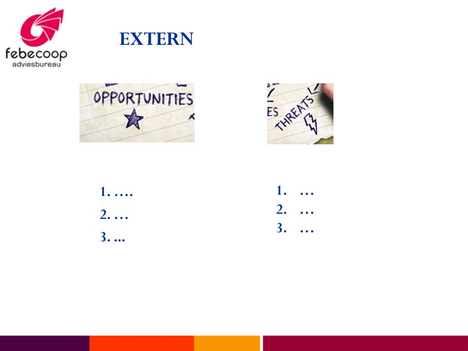 EXTERN 1. …. 2. … 3.... 1.… 2.… 3.…