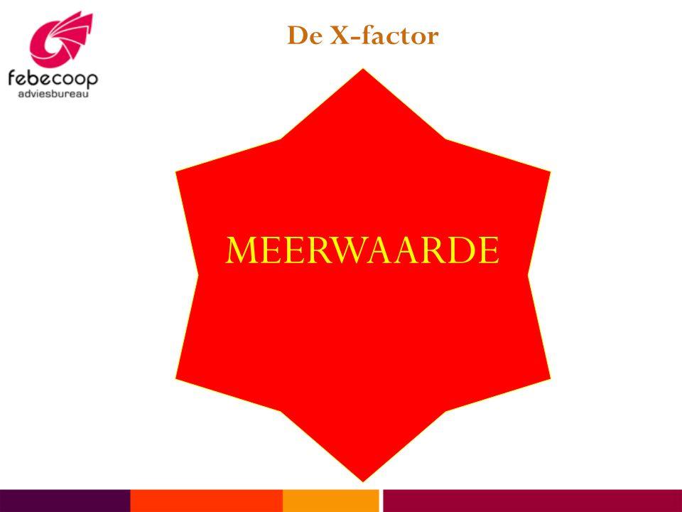 De X-factor MEERWAARDE