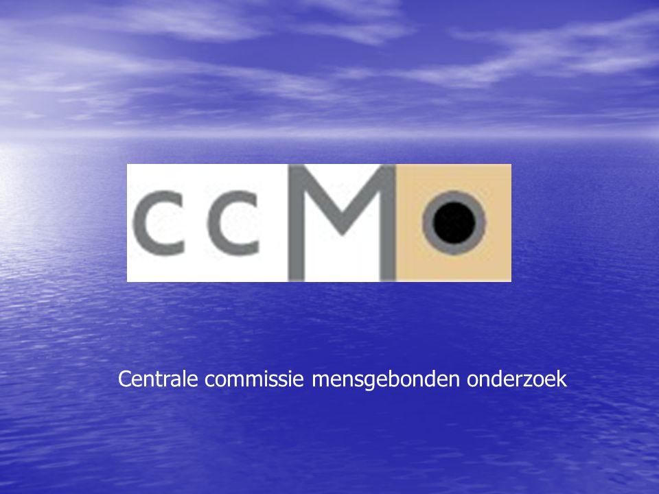 Centrale commissie mensgebonden onderzoek