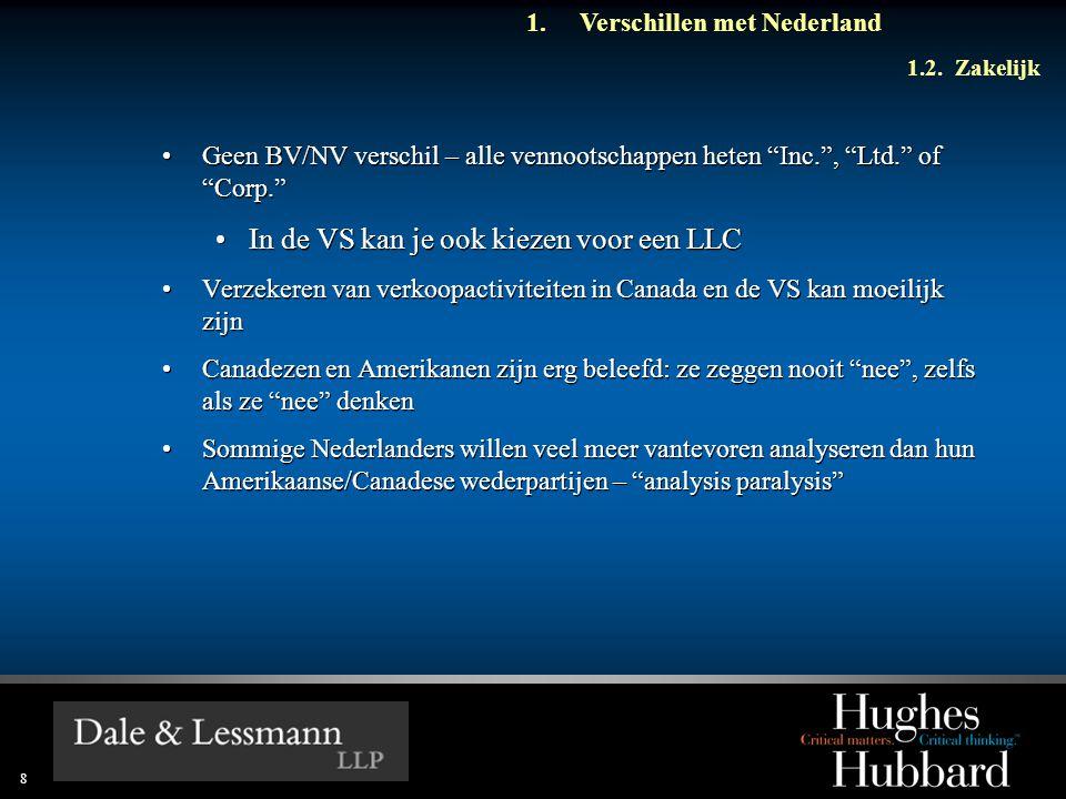 8 1.Verschillen met Nederland 1.2.