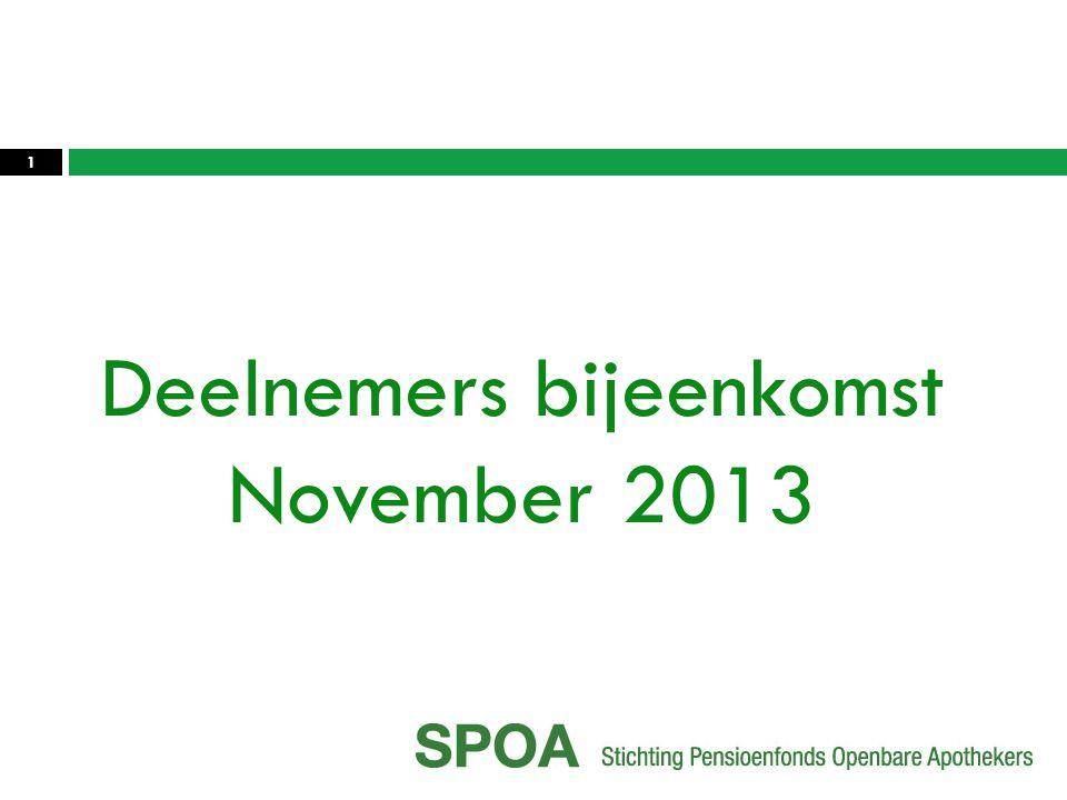 Deelnemers bijeenkomst November 2013 1