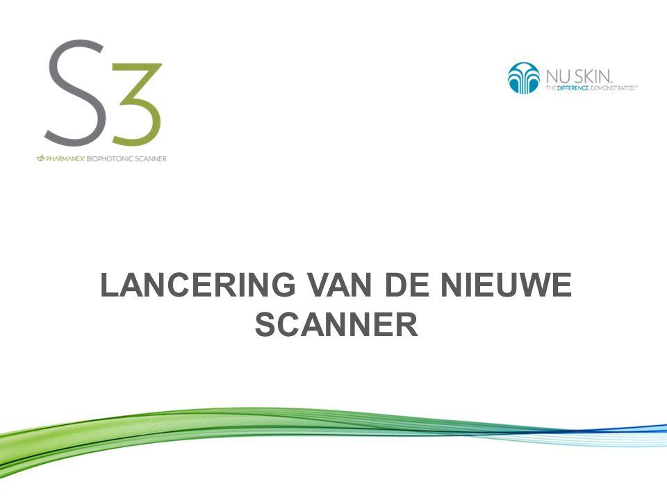 LANCERING VAN DE NIEUWE SCANNER