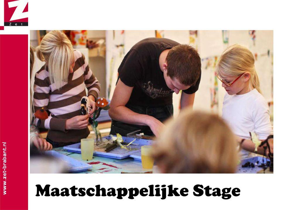 www.zet-brabant.nl Maatschappelijke Stage