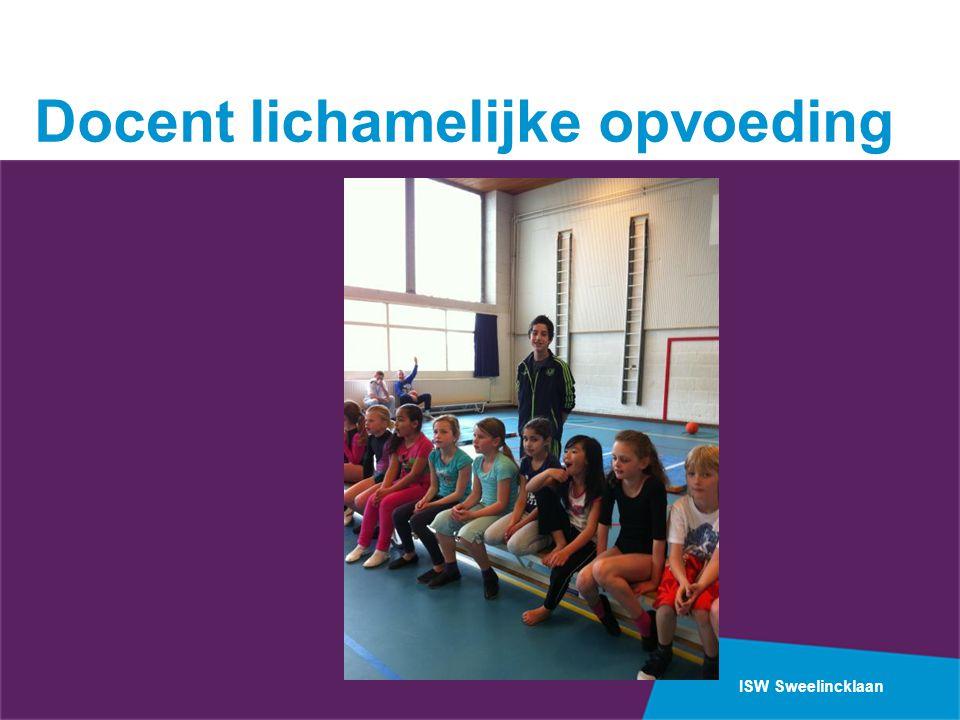ISW Sweelincklaan Docent lichamelijke opvoeding