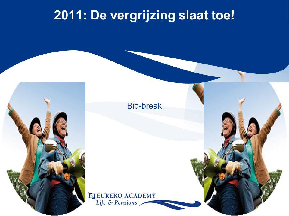 2011: De vergrijzing slaat toe! Bio-break