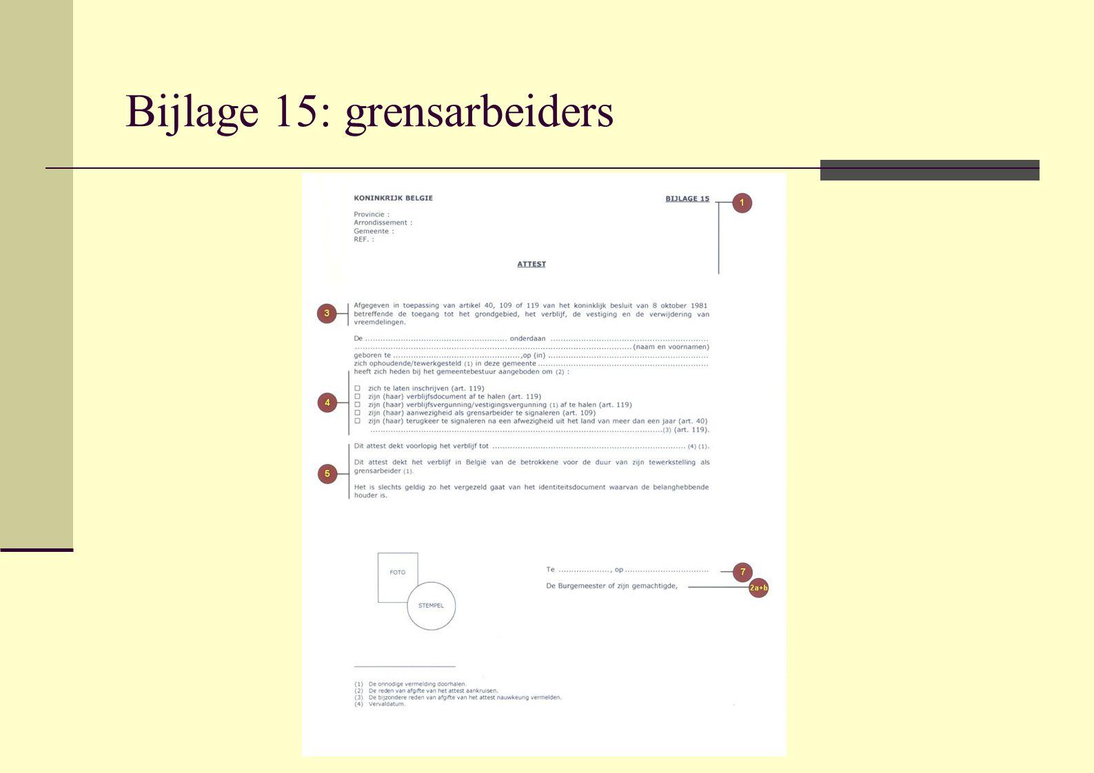 Bijlage 15: grensarbeiders
