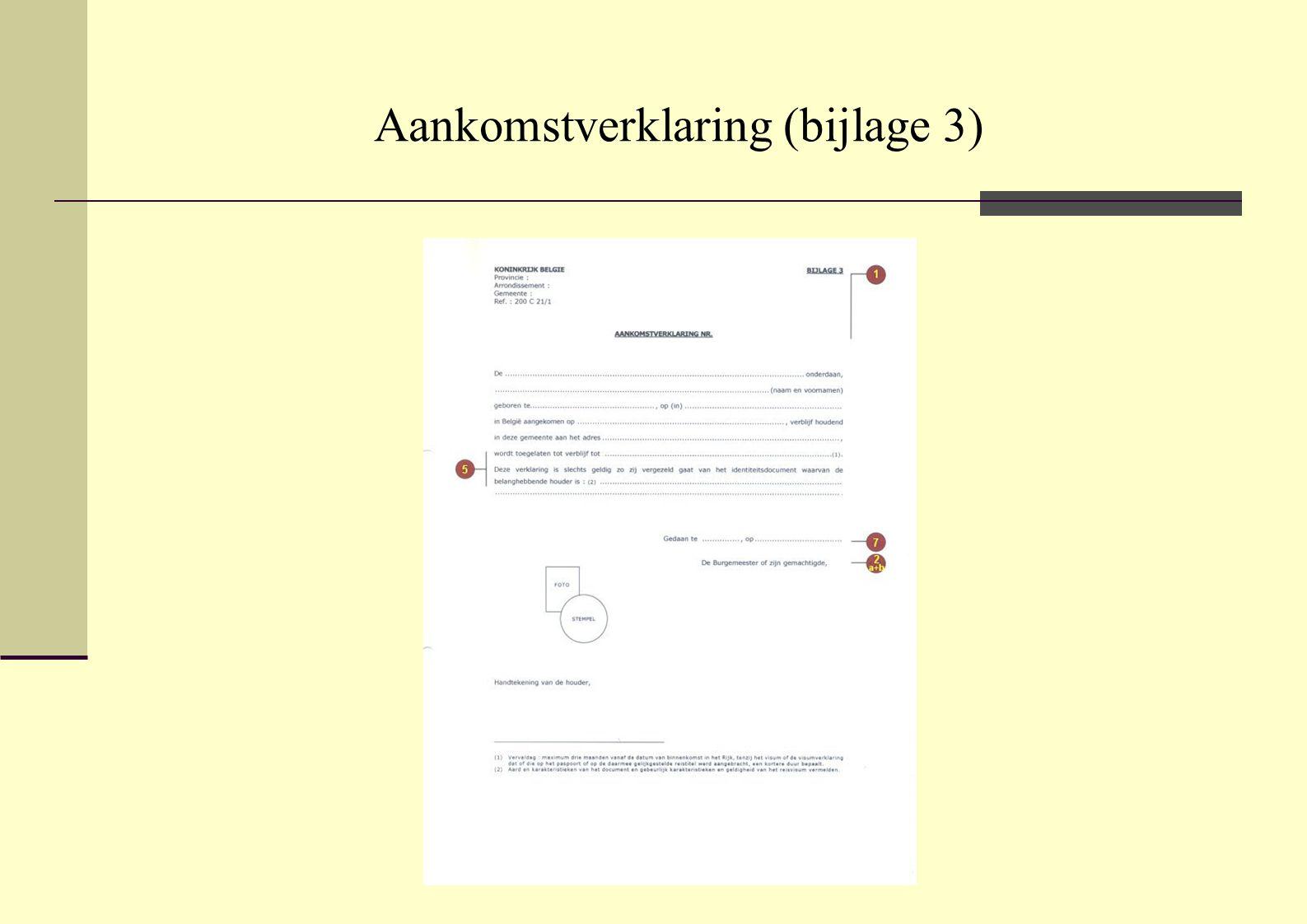 Bevel om het grondgebied te verlaten (bijlage 13) model B
