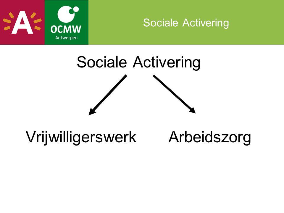 Sociale Activering Vrijwilligerswerk Arbeidszorg
