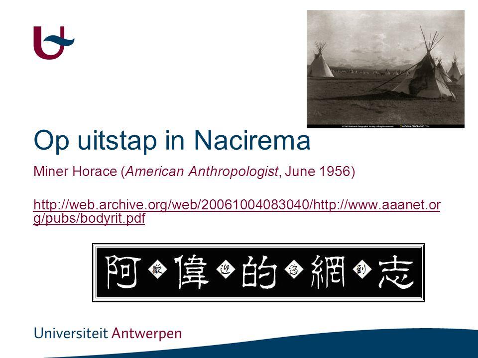 8 Nacirema