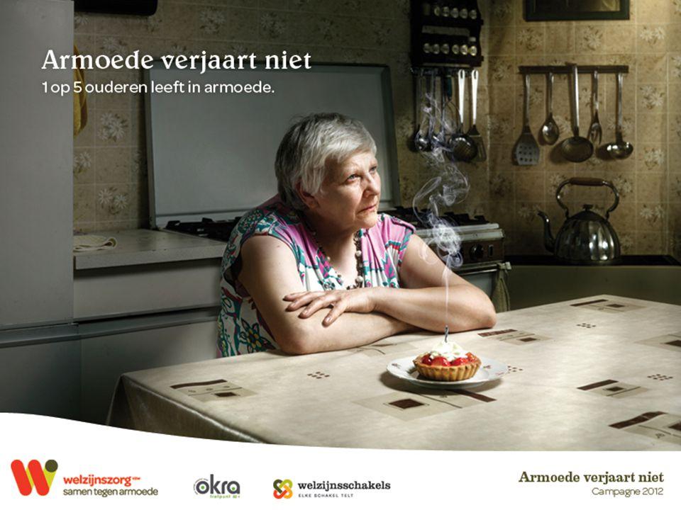 Campagne 2012 Armoede verjaart niet Een verjaardag is feest: mooie wensen, warme gezelligheid, leuke attenties… Dat jaartje extra neem je er bij en elke dag worden we een beetje ouder.