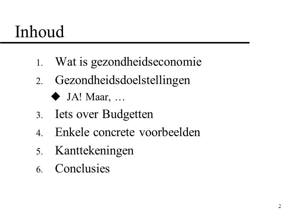 13 4.Enkele concrete* voorbeelden doelgroepKost (5j)/indiv budget 5j (€) Rel.