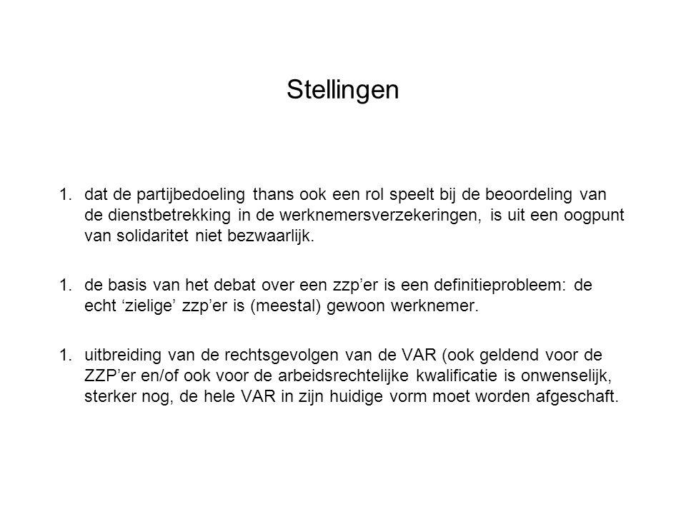 Probleem: gebrekkige controle fiscus èn: http://www.steplink.nl/documenten/Tips_invullen_aan vraag_VAR_verklaring.pdf