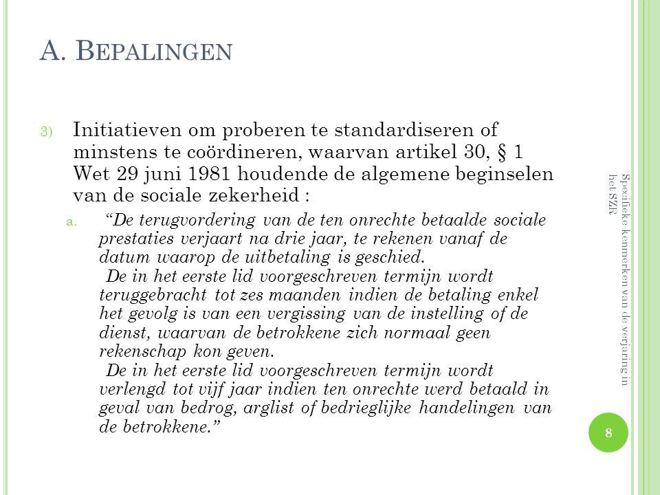 A.B EPALINGEN b. Kenmerken art.