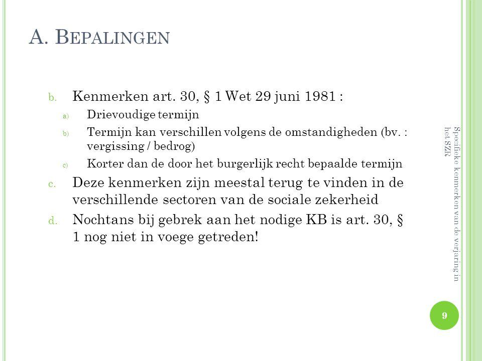 A.B EPALINGEN 3) Belangrijke rol v. h.