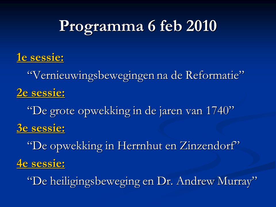 I: Twee basisvoorwaarden De twee basisvoorwaarden voor geestelijke vernieuwing Voorbereiding om het Evangelie te kunnen ontvangen.