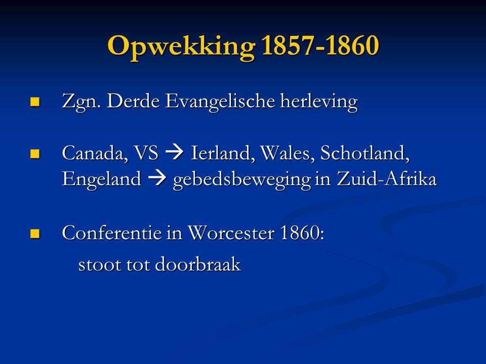 Opwekking 1857-1860  Zgn.