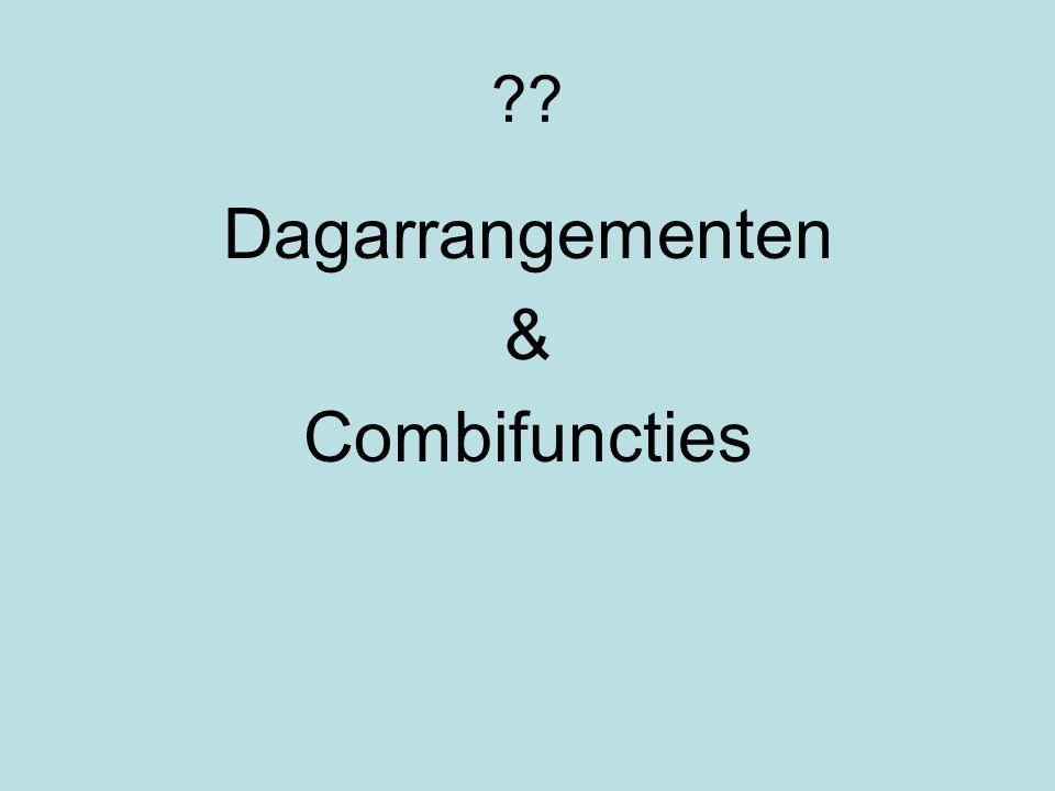 ?? Dagarrangementen & Combifuncties