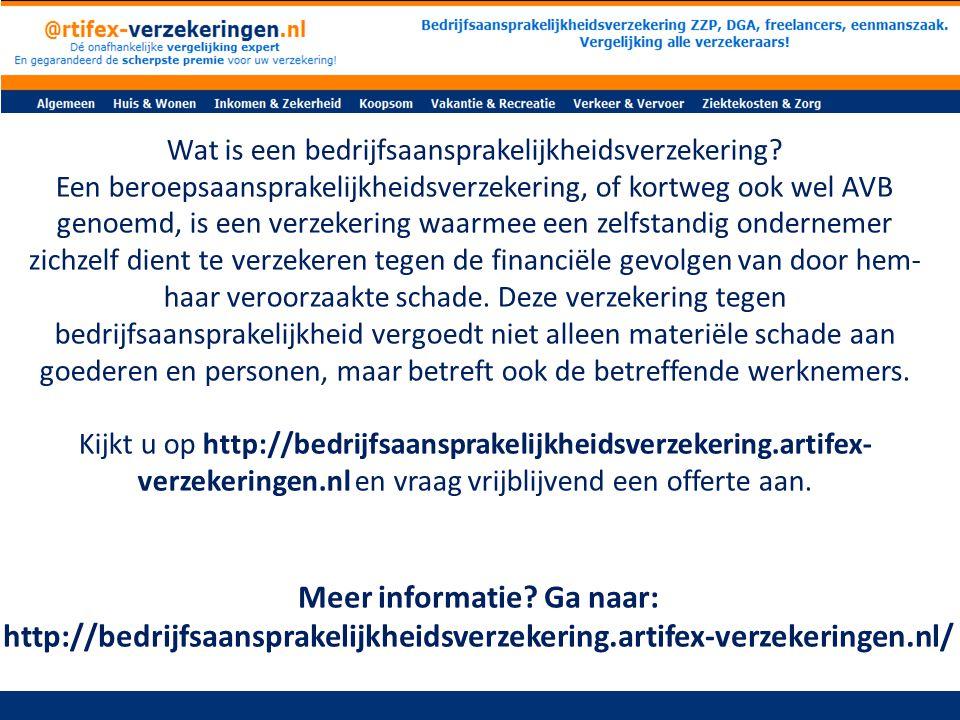Wat bepaalt de hoogte van de premie van een bedrijfsaansprakelijkheidsverzekering.