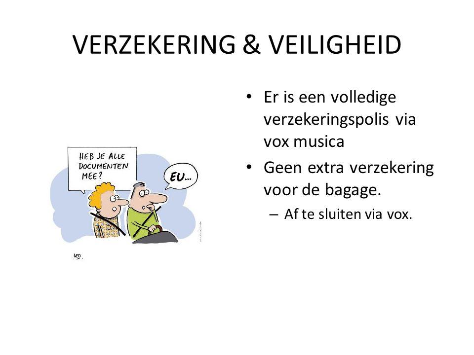 MEEBRENGEN • Medische fiche • Kledij • Papa's visakaart (proberen waard) • Zonnecrème en aftersun !!.