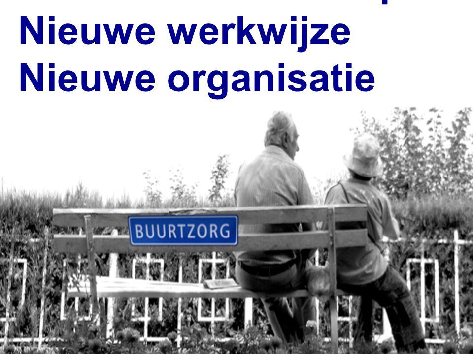 Nieuw vakmanschap Nieuwe werkwijze Nieuwe organisatie